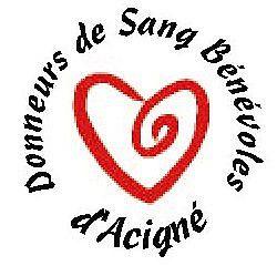 AMICALE DES DONNEURS DE SANG BÉNÉVOLES D'ACIGNÉ