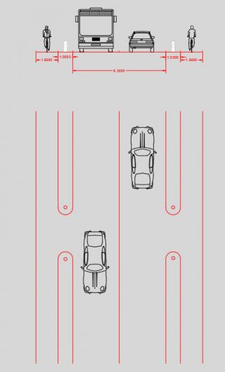 Prolongation de la liaison cyclable le long de la RD29