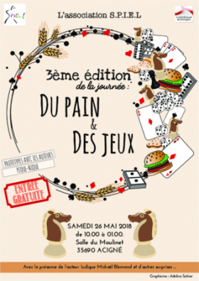 """3ème édition """"du Pain et des Jeux"""""""