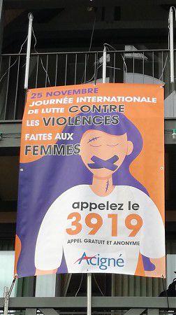 25 NOVEMBRE-JOURNÉE DE LUTTE CONTRE LES VIOLENCES FAITES AUX FEMMES