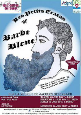 LES PETITS TRACAS DE BARBE BLEUE