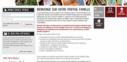 PORTAIL FAMILLES EN LIGNE...