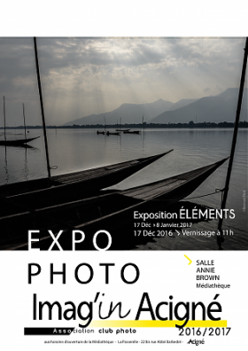 "EXPOSITION PHOTO ""LES ELEMENTS"""