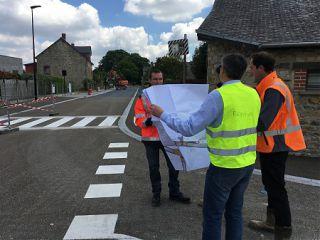Travaux rue de Rennes, rue du Calvaire et rue de la Lande - Communiqué de RM