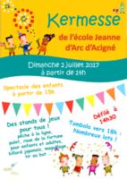 KERMESSE DE L'ECOLE JEANNE D'ARC