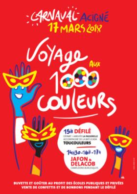 CARNAVAL : VOYAGE AUX 1000 COULEURS