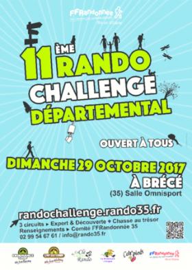 11e RANDO-CHALLENGE DEPARTEMENTAL