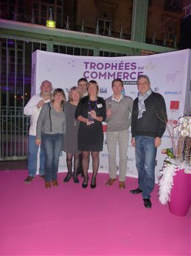 TROPHEES DU COMMERCE - UN COMMERCE ACIGNOLAIS RECOMPENSE