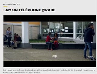 I AM UN TELEPHONE @RABE