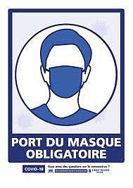 LE PORT DU MASQUE RESTE OBLIGATOIRE DANS LES ZONES À FORTE DENSITÉ