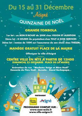 QUINZAINE DE NOEL