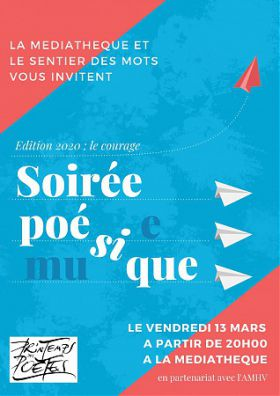 5ème édition soirée poésie et musique - ANNULE