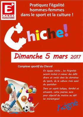 JOURNEE INTERNATIONALE DES FEMMES : CHICHE!