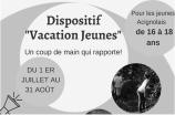 16-18 ANS: VACATIONS D'ÉTÉ